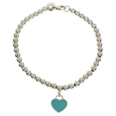 Tiffany & Co. Return to Tiffany Beeds Sterling 925 Silver Bracelet