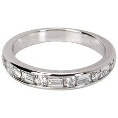 Tiffany & Co. Round and Baguette Diamond Band '3/4 Carat'