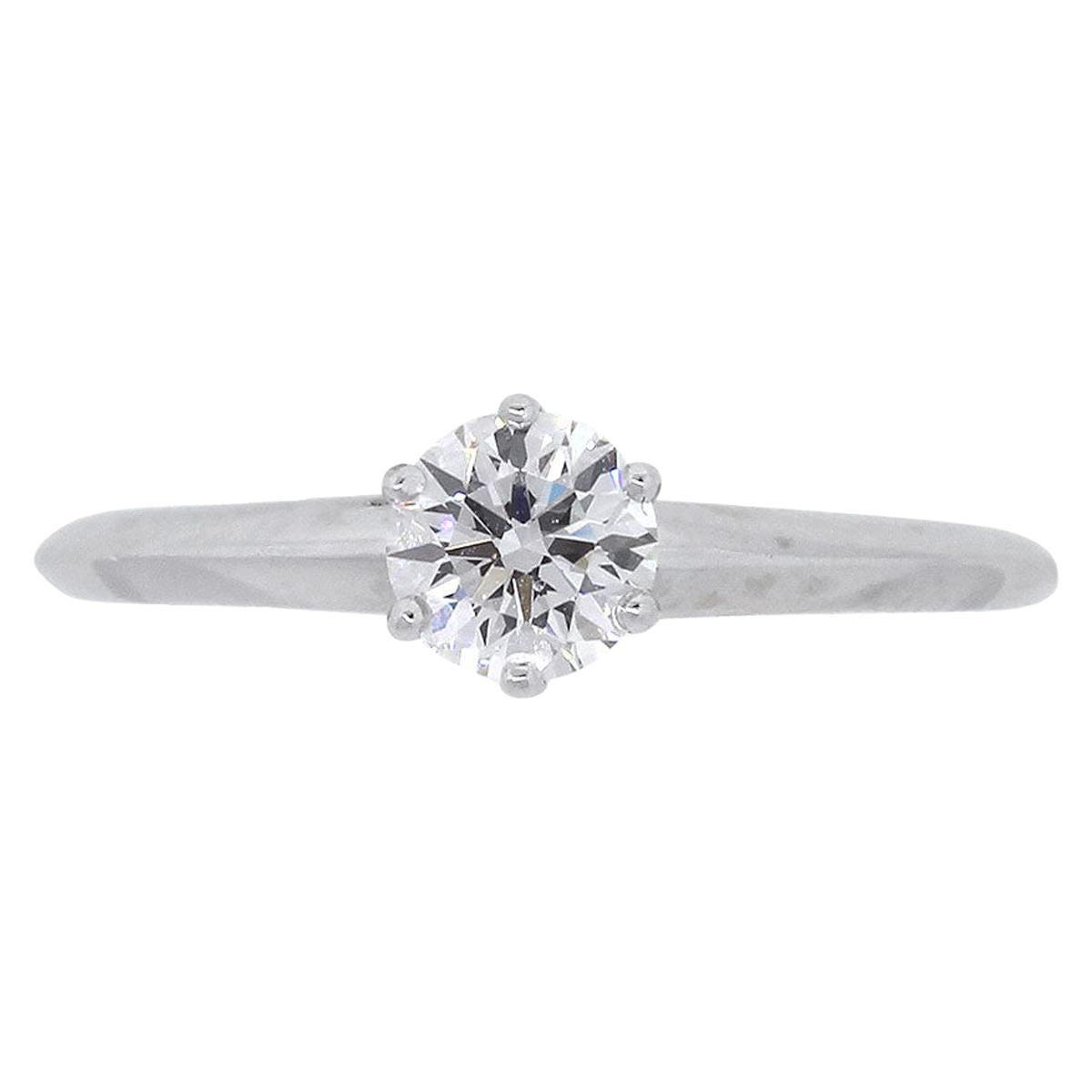 Tiffany & Co. Round Brilliant Diamond Engagement Ring