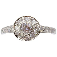 89e11023054b3 Tiffany and Co. Three-Stone Circlet Diamond Ring at 1stdibs