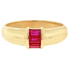 Tiffany & Co. Ruby Baguette Band Ring
