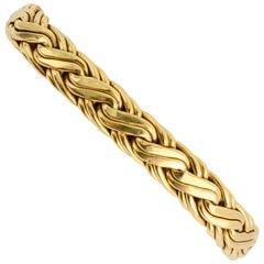 Tiffany & Co. Russian Braid Gold Bracelet