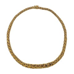 Tiffany & Co. Russian Weave Gold Necklace