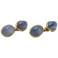 Tiffany & Co. Sapphire Cufflinks