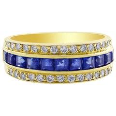Tiffany & Co. Sapphire Diamond Ring