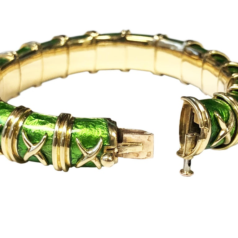 Women's Tiffany & Co. Schlumberge Croisillon Bracelet For Sale