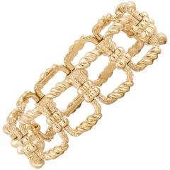 Tiffany & Co. Schlumberger 18 Karat Link Bracelet