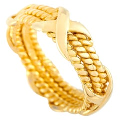 Tiffany & Co. Schlumberger 18 Karat Yellow Gold Ring