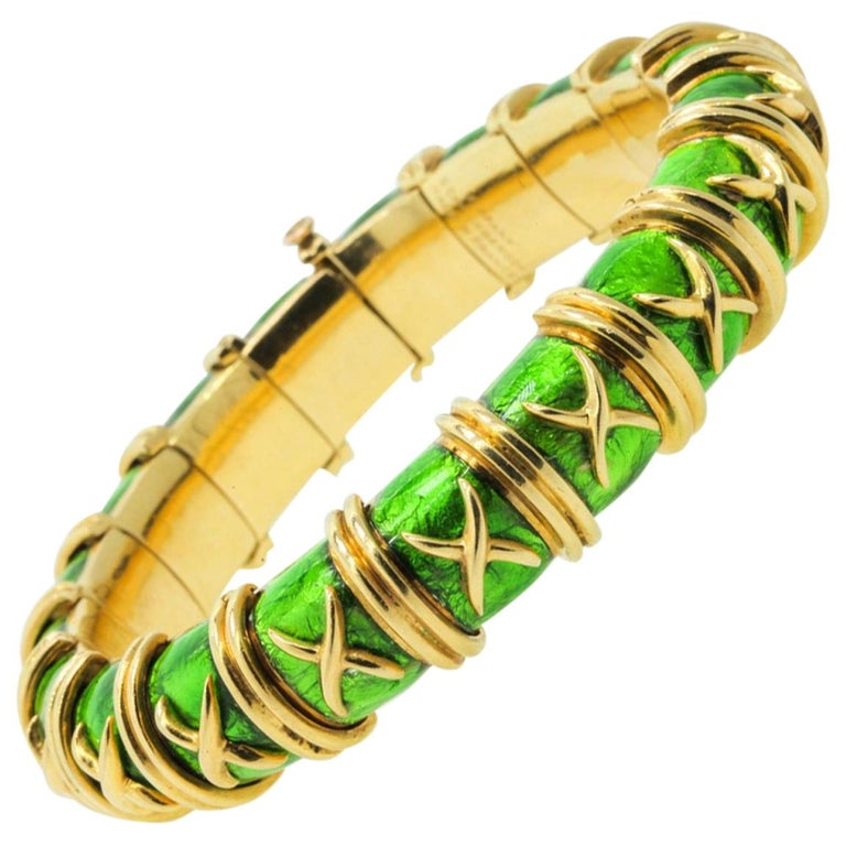 8aeefd073 Tiffany and Co. Schlumberger Croisillon Bracelet For Sale at 1stdibs