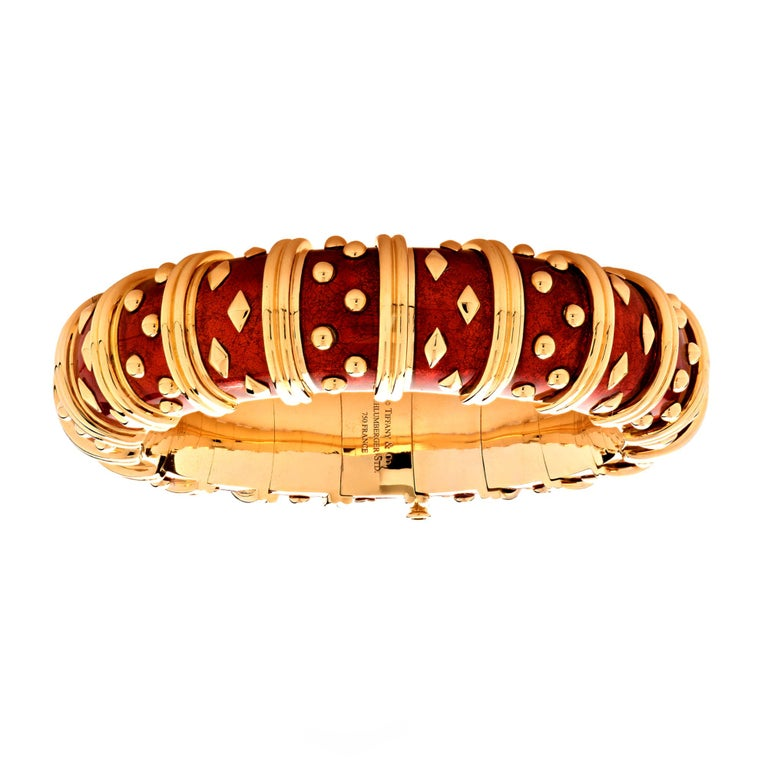 Women's Tiffany & Co. Schlumberger Dot Losange Bangle Bracelet