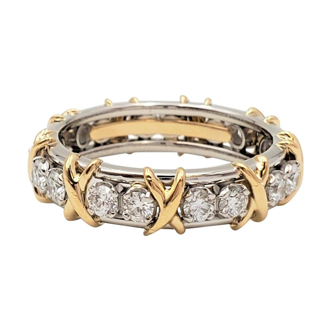 Tiffany & Co. Schlumberger Eighteen-Stone Ring