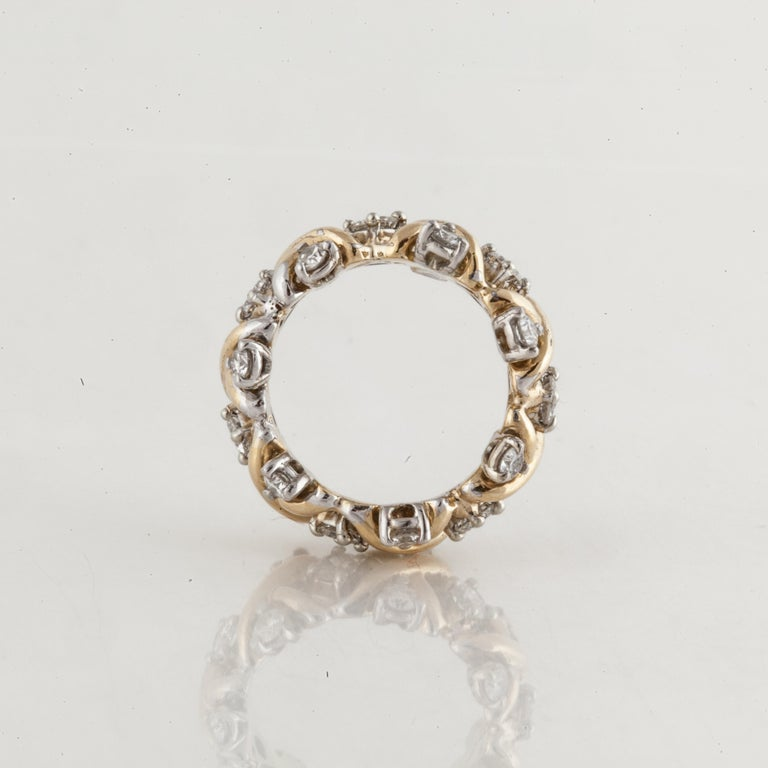 Tiffany & Co. Eternity Band In Good Condition For Sale In Houston, TX