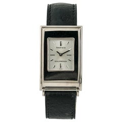 Tiffany & Co. Schlumberger Quartz, Silver Dial, Certified