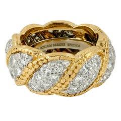 Tiffany & Co. Schlumberger Studio Diamond Ring