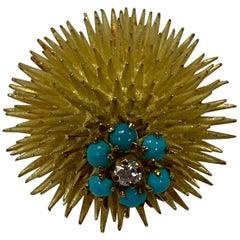 Tiffany & Co. Sea Urchin Brooch