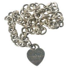 Tiffany & Co. Silver Charm Necklace