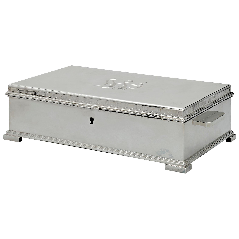 Tiffany & Co. Silver Document Box