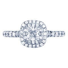 Tiffany & Co. Soleste Double Row Ring in Platinum