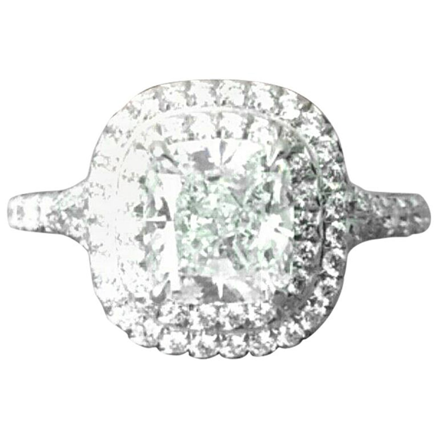 aef8b1985 Tiffany and Co Soleste Platinum and Diamond 1.28 Carat H Internal Flawless  at 1stdibs