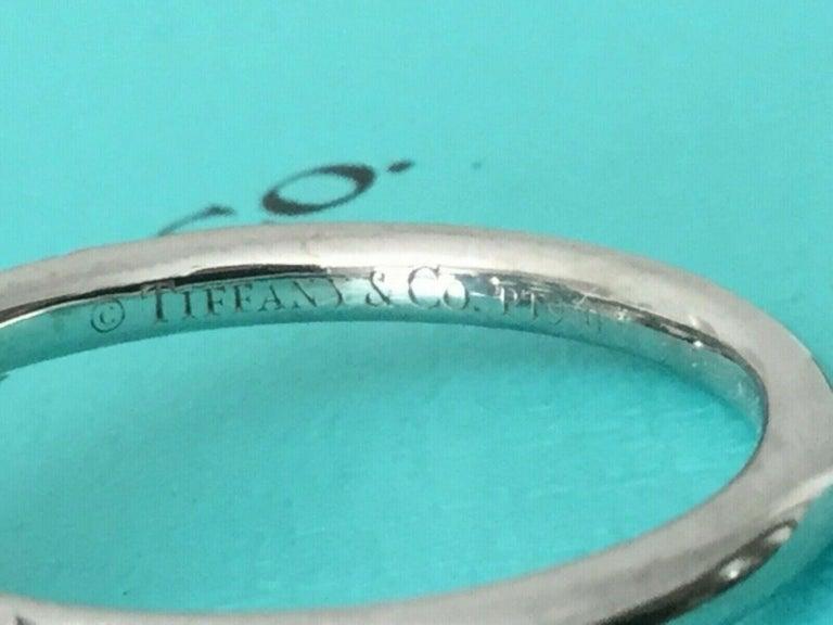 405e525ca Tiffany & Co Soleste Platinum and Diamond 1.28 Carat H Internal Flawless For  Sale 4