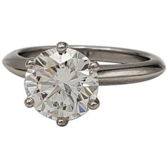 Tiffany & Co. Solitaire Diamond Engagement Ring