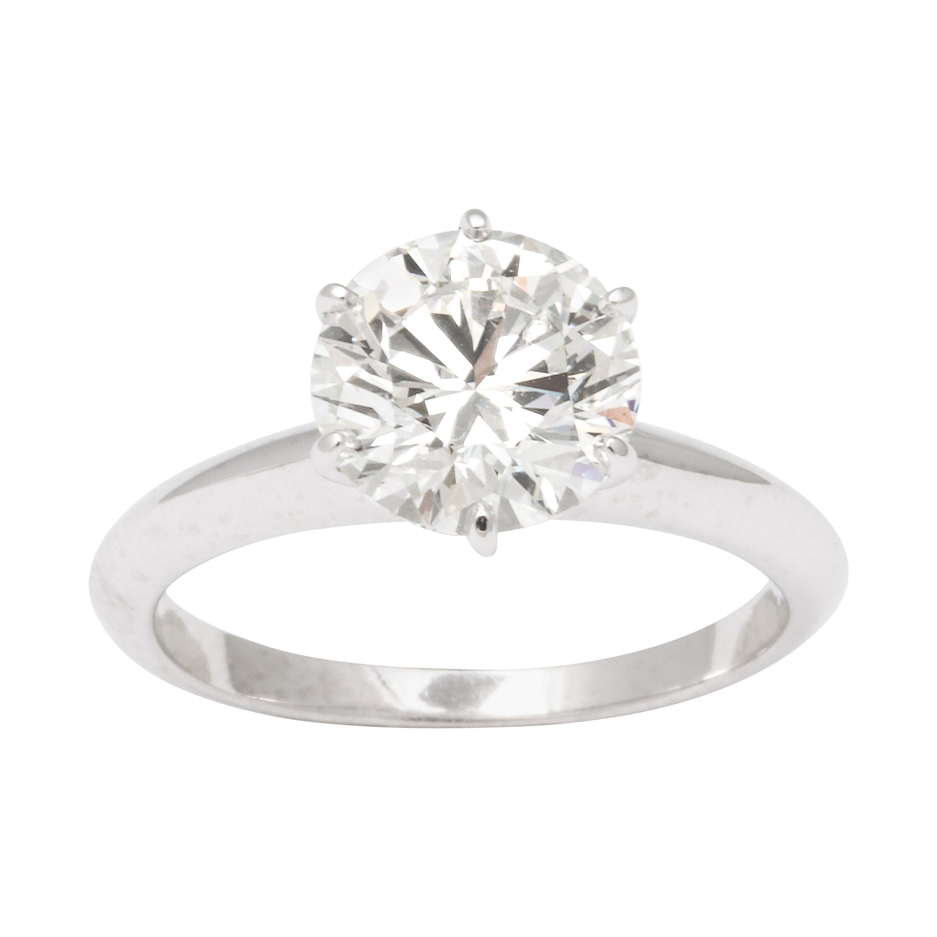 Tiffany & Co. Solitaire Engagement Ring