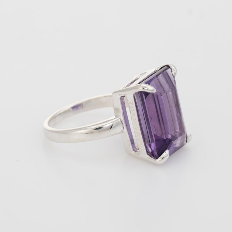 Tiffany And Co Sparklers Amethyst Cocktail Ring Estate