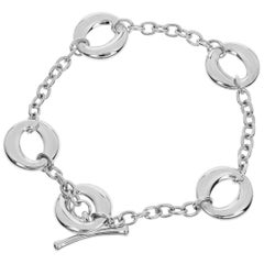 Tiffany & Co. Sterling 925 Silver Seviana Elsa Peretti Bracelet
