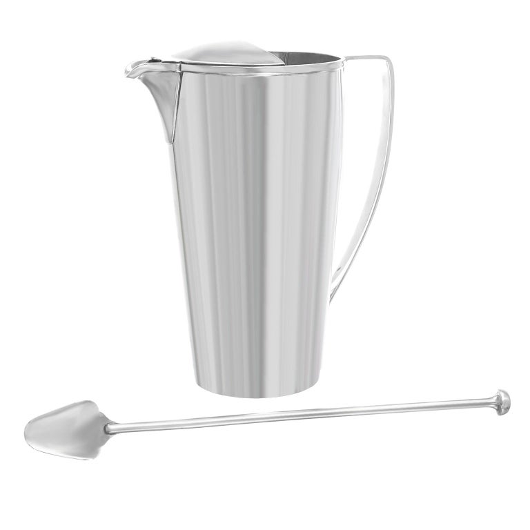 American Tiffany & Co. Sterling Art Deco Cocktail Pitcher/Mixer For Sale