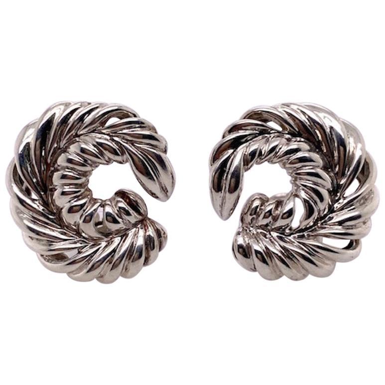 Tiffany & Co. Sterling Earrings