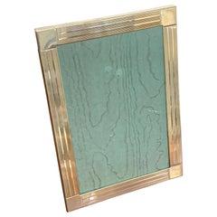 Tiffany & Co. Sterling Frame, Frank Lloyd Wright Style