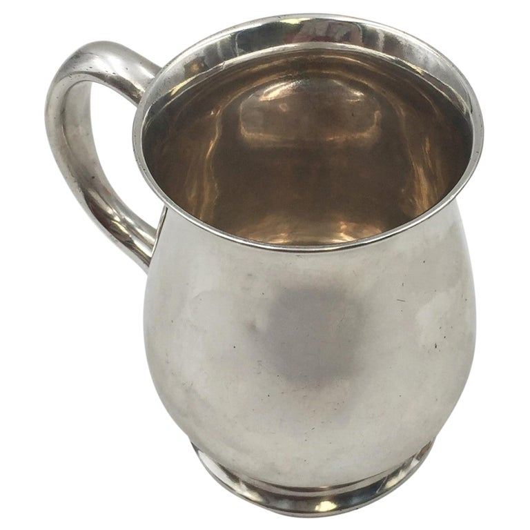 Tiffany & Co. Sterling Silver 1904 Christening Cup Child Mug For Sale