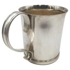 Tiffany & Co. Sterling Silver 1916 Christening Cup Child Mug