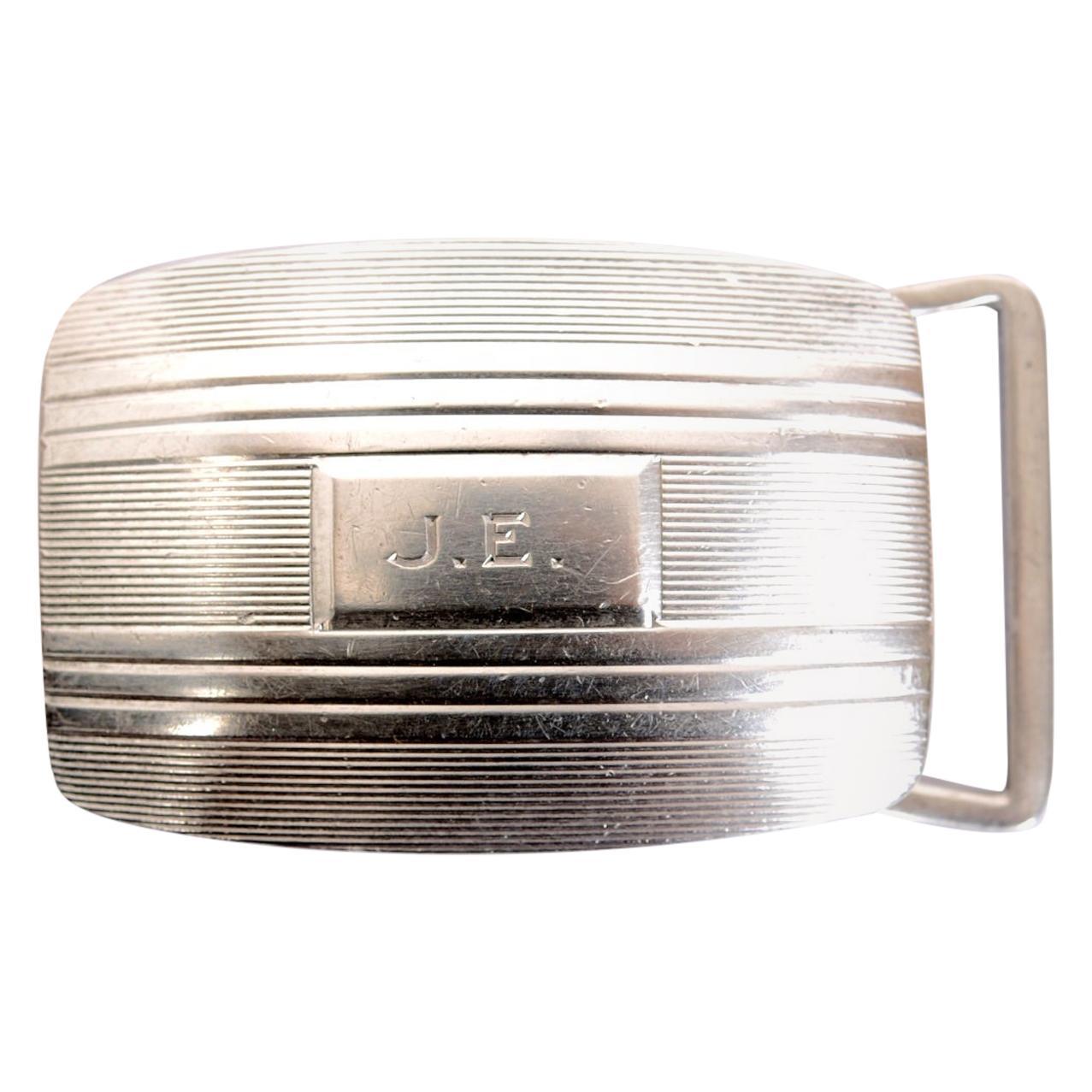 Tiffany& Co. Sterling Silver Belt Buckle