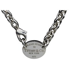 Tiffany & Co. Sterling Silver Cable Link Chain
