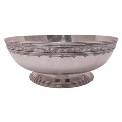 Tiffany & Co. Sterling Silver Centerpiece Bowl from 1914 in Art Deco Style