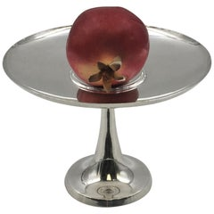 Tiffany & Co. Sterling Silver Centerpiece Stand Compote Mid-Century Modern Style