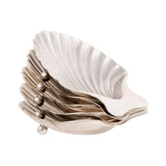 Tiffany & Co. Sterling Silver Coquille Dishes