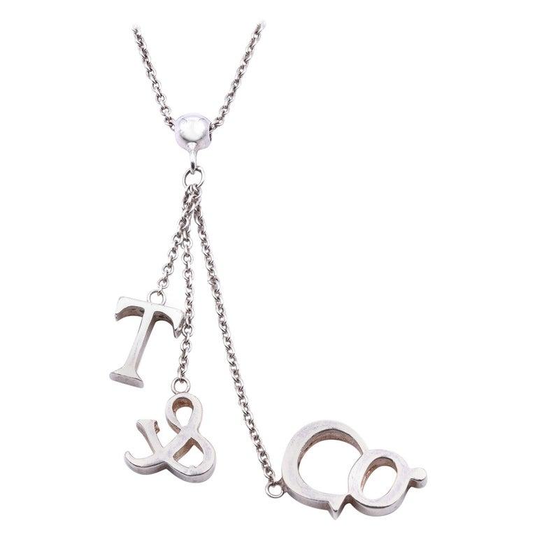 Tiffany & Co. Sterling Silver Dangle Necklace