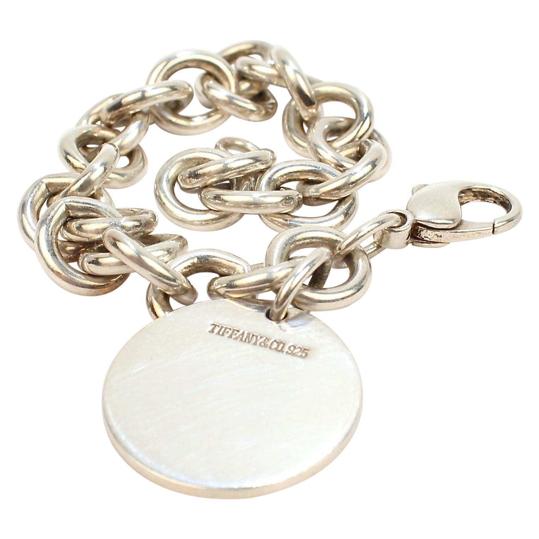 Tiffany & Co. Sterling Silver Dog Chain Link Bracelet
