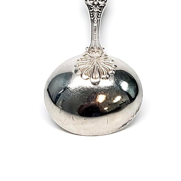 Tiffany & Co. Sterling Silver English King Gravy Ladle 'B' 3