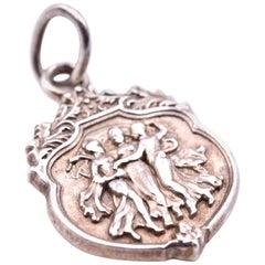Tiffany & Co. Sterling Silver Friendship Charm