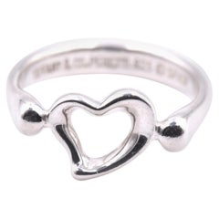 Tiffany & Co. Sterling Silver Heart Ring