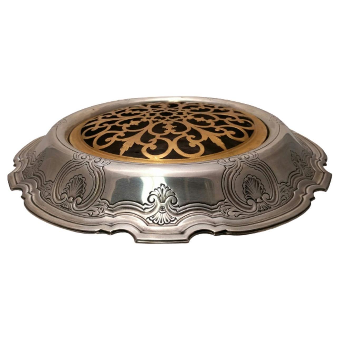 Tiffany & Co. Sterling Silver Monumental Flower/Fruit Centerpiece Bowl