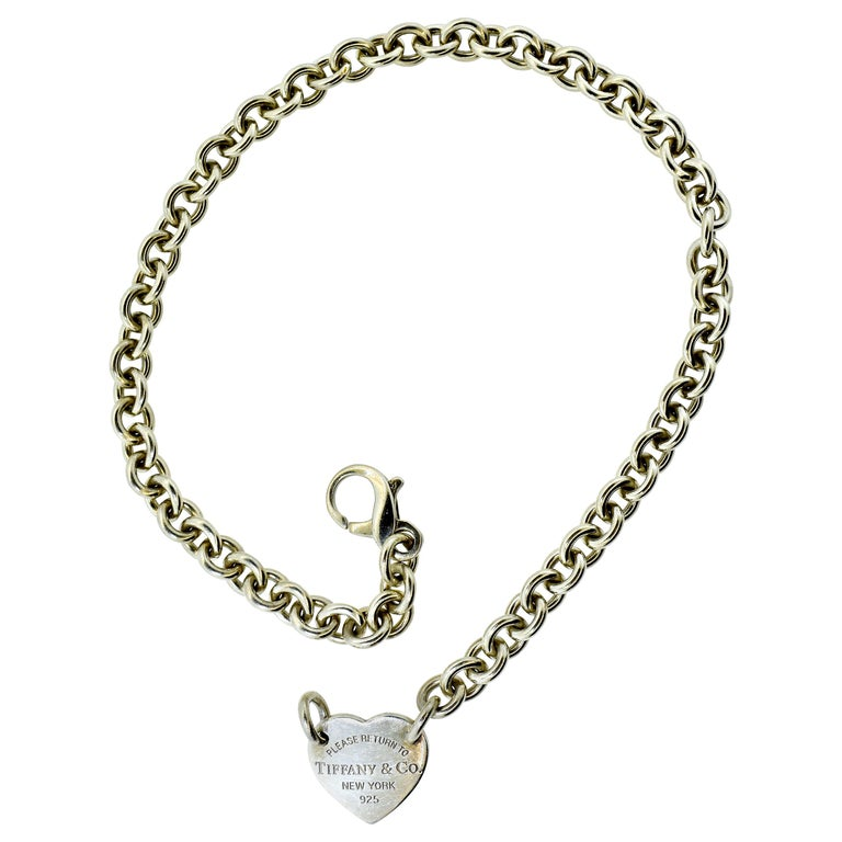 Tiffany & Co. Sterling Silver Necklace For Sale