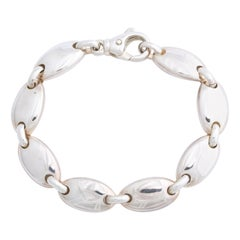 Tiffany & Co. Sterling Silver Pebble Bracelet