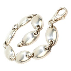 Tiffany & Co. Sterling Silver Pebble Link Bracelet