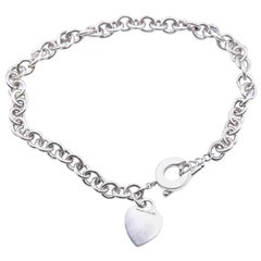 Tiffany & Co. Sterling Silver Return to Tiffany Heart Necklace