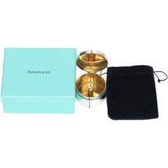 Tiffany & Co. Sterling Silver Round Stamp Roll Dispenser
