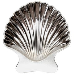 Tiffany & Co Sterling Silver Shell Dish